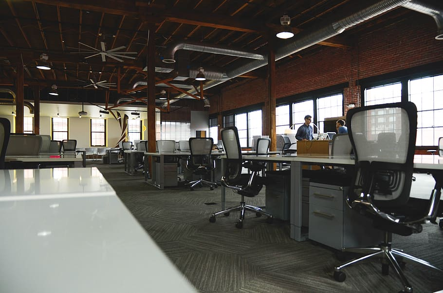 Industrial Office Space Design