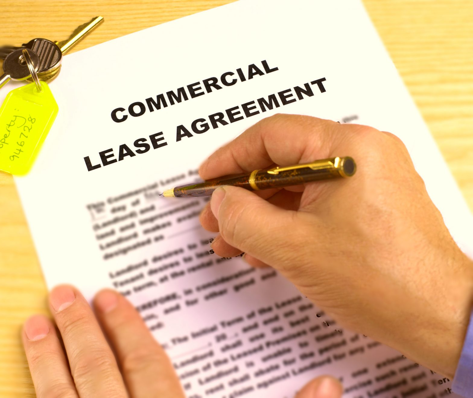 Commercial Lease In Bradford