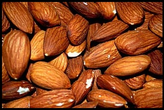 nutrition in Almonds - Roasted