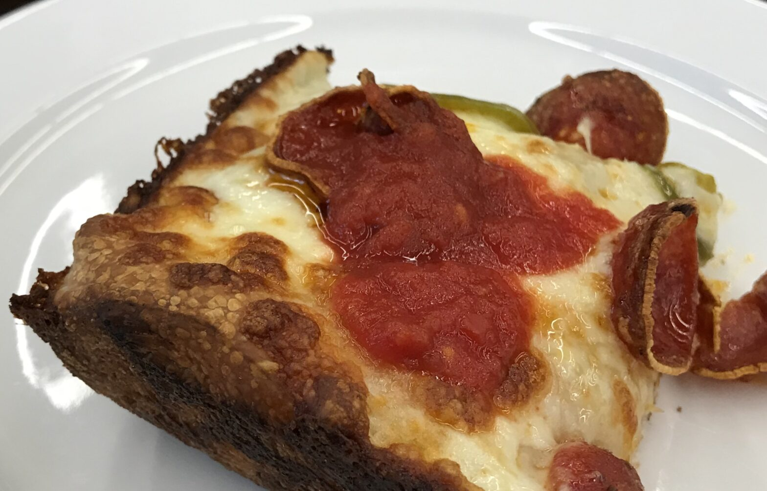 Detroit Style Cheese Pizza